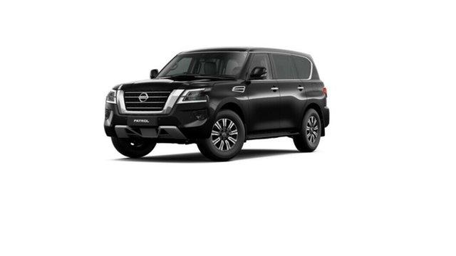 New Nissan Patrol Y62 Series 5 MY20 TI Moorooka, 2020 Nissan Patrol Y62 Series 5 MY20 TI Black Obsidian 7 Speed Sports Automatic Wagon