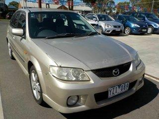 2002 Mazda 323 Astina SP20 Silver 4 Speed Automatic Hatchback.