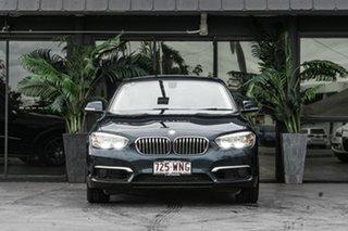 2016 BMW 1 Series F20 LCI 118d Steptronic Urban Line Blue 8 Speed Sports Automatic Hatchback.