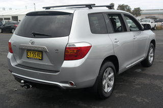 2009 Toyota Kluger GSU40R KX-R 2WD Silver 5 Speed Sports Automatic Wagon
