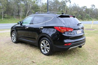 2013 Hyundai Santa Fe DM MY14 Highlander Black 6 Speed Sports Automatic Wagon