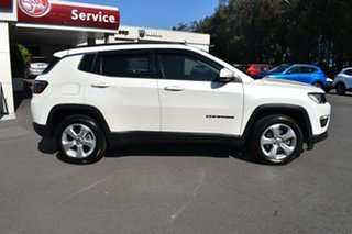 2018 Jeep Compass M6 MY18 Longitude FWD White 6 Speed Automatic Wagon.