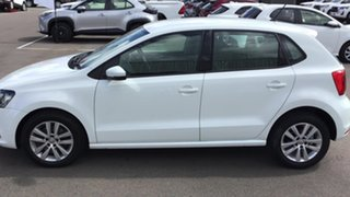 2015 Volkswagen Polo 6R MY16 81TSI DSG Comfortline White 7 Speed Sports Automatic Dual Clutch