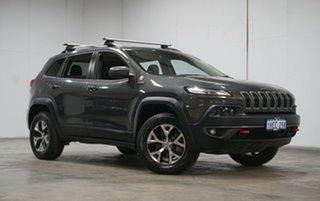 2017 Jeep Cherokee KL MY17 Trailhawk Grey 9 Speed Sports Automatic Wagon.