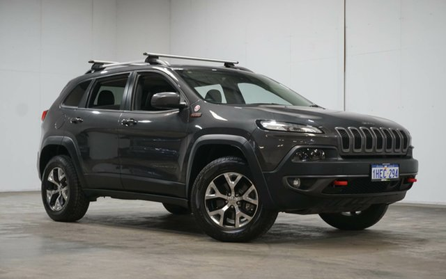 Used Jeep Cherokee KL MY17 Trailhawk Welshpool, 2017 Jeep Cherokee KL MY17 Trailhawk Grey 9 Speed Sports Automatic Wagon