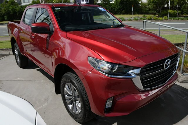 New Mazda BT-50 TFS40J XT North Rockhampton, 2020 Mazda BT-50 TFS40J XT Red Volcano 6 Speed Manual Utility