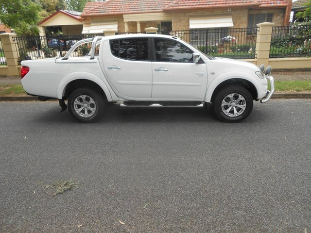 Used Mitsubishi Triton MN MY10 GLX-R Double Cab Broadview, 2009 Mitsubishi Triton MN MY10 GLX-R Double Cab White 5 Speed Manual Utility