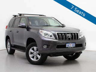 2012 Toyota Landcruiser Prado KDJ150R 11 Upgrade Altitude (4x4) Grey 5 Speed Sequential Auto Wagon.