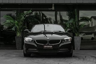 2010 BMW Z4 E89 MY1110 sDrive30i Steptronic Black 6 Speed Sports Automatic Roadster.