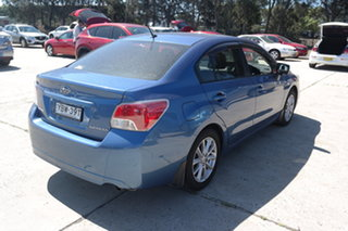 2013 Subaru Impreza G4 MY14 2.0i Lineartronic AWD Blue 6 Speed Constant Variable Sedan