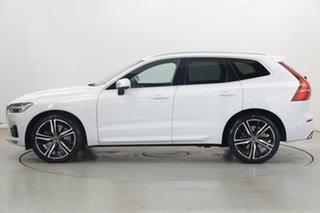2017 Volvo XC60 UZ MY18 T6 AWD R-Design White 8 Speed Sports Automatic Wagon.