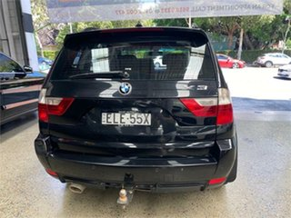2009 BMW X3 E83 xDrive30d Lifestyle Black Automatic Wagon