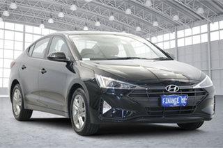 2018 Hyundai Elantra AD.2 MY19 Active Phantom Black 6 Speed Sports Automatic Sedan.