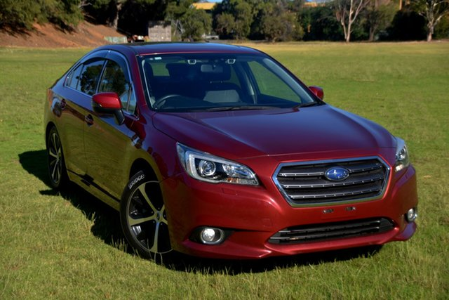 Used Subaru Liberty B6 MY15 2.5i CVT AWD Premium St Marys, 2015 Subaru Liberty B6 MY15 2.5i CVT AWD Premium Burgundy 6 Speed Constant Variable Sedan