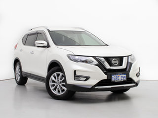 2018 Nissan X-Trail T32 Series 2 ST-L (2WD) White Continuous Variable Wagon.