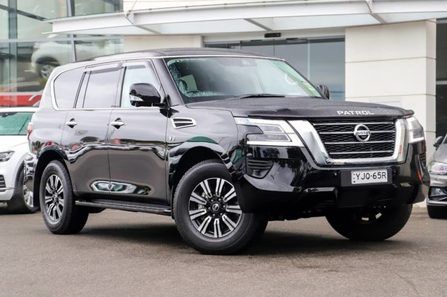 Demo Nissan Patrol Y62 Series 5 MY20 TI (4x4) Sutherland, 2020 Nissan Patrol Y62 Series 5 MY20 TI (4x4) Black Obsidian 7 Speed Automatic Wagon