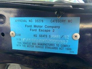 2012 Ford Escape Performance Blue Automatic SUV
