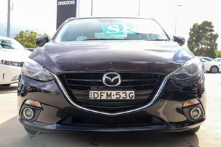 2016 Mazda 3 BM5436 SP25 SKYACTIV-MT GT Jet Black 6 Speed Manual Hatchback