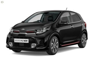 2020 Kia Picanto JA MY21 GT-Line Black 4 Speed Automatic Hatchback