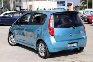 2011 Mitsubishi Colt RG MY11 VR-X Blue 5 Speed Manual Hatchback.