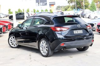 2016 Mazda 3 BM5436 SP25 SKYACTIV-MT GT Jet Black 6 Speed Manual Hatchback.