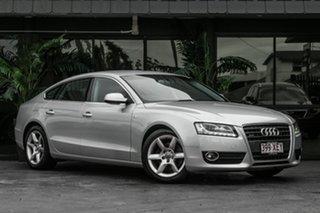2009 Audi A5 8T MY10 Sportback S Tronic Quattro Silver 7 Speed Sports Automatic Dual Clutch.