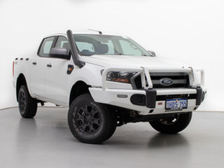 2016 Ford Ranger PX MkII XLS 3.2 (4x4) White 6 Speed Automatic Double Cab Pick Up.