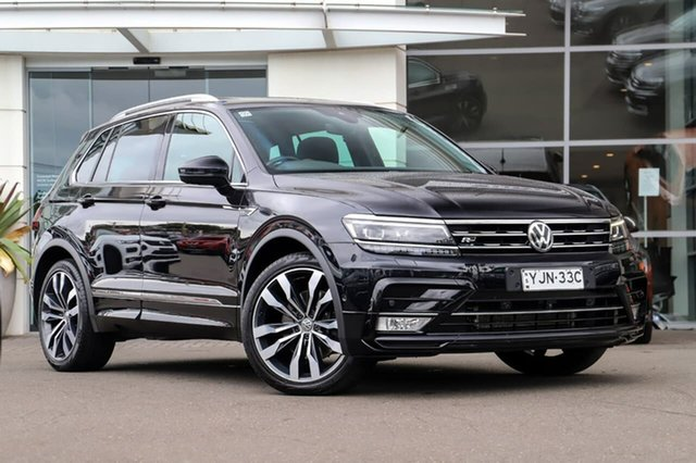 Used Volkswagen Tiguan 5N MY17 140TDI DSG 4MOTION Highline Sutherland, 2016 Volkswagen Tiguan 5N MY17 140TDI DSG 4MOTION Highline Pearl Black 7 Speed