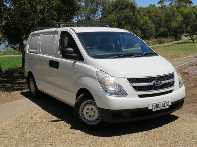 Used Hyundai iLOAD TQ-V Morphett Vale, 2009 Hyundai iLOAD TQ-V White 5 Speed Manual Van