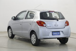 2013 Mitsubishi Mirage LA MY14 ES Silver 5 Speed Manual Hatchback