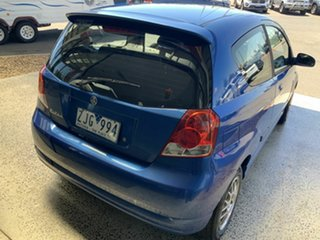 2007 Holden Barina TK MY07 Blue 4 Speed Automatic Hatchback