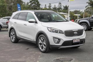 2016 Kia Sorento UM MY16 Platinum AWD Pearl White 6 Speed Sports Automatic Wagon