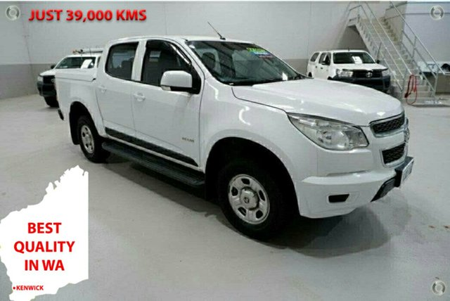 Used Holden Colorado RG MY14 LX Crew Cab 4x2 Kenwick, 2014 Holden Colorado RG MY14 LX Crew Cab 4x2 White 6 Speed Sports Automatic Utility