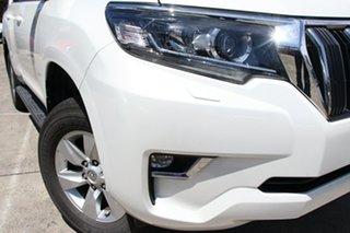 2018 Toyota Landcruiser Prado GDJ150R MY18 GXL (4x4) Crystal Pearl 6 Speed Automatic Wagon.