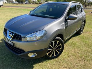 2013 Nissan Dualis J10W Series 4 MY13 Ti-L X-tronic AWD Grey 6 Speed Constant Variable Hatchback.