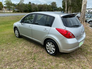 2007 Nissan Tiida C11 MY07 ST White 6 Speed Manual Hatchback