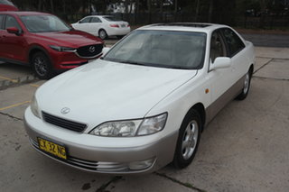 1997 Lexus ES MCV20R ES300 LXS White 4 Speed Automatic Sedan.