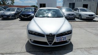 2008 Alfa Romeo 159 JTD Silver 6 Speed Sports Automatic Sedan.