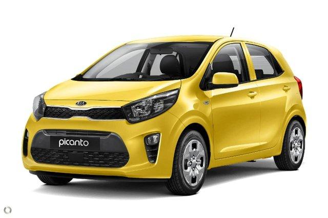 New Kia Picanto JA MY21 S Reynella, 2020 Kia Picanto JA MY21 S Yellow 4 Speed Automatic Hatchback
