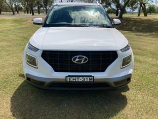2019 Hyundai Venue QX MY20 Active Polar White 6 Speed Automatic Wagon