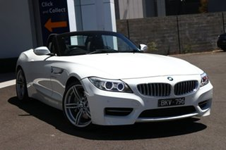 2013 BMW Z4 E89 LCI MY0313 sDrive35is D-CT White 7 Speed Sports Automatic Dual Clutch Roadster.