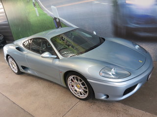 2000 Ferrari 360 Modena Blue 6 Speed Manual F1 Shift Coupe