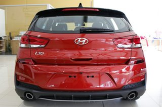 2021 Hyundai i30 PD.V4 MY21 N Line Premium Lava Orange 7 Speed Auto Dual Clutch Hatchback