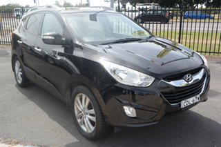 2011 Hyundai ix35 LM MY12 Highlander AWD Black 6 Speed Sports Automatic Wagon.
