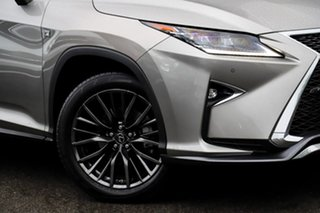 2017 Lexus RX GGL25R RX350 F Sport Silver, Chrome 8 Speed Sports Automatic Wagon
