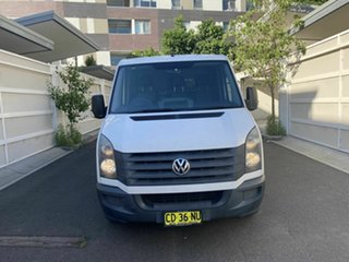 2011 Volkswagen Crafter 2ED1 MY12 35 MWB TDI300 White 6 Speed Manual Van.