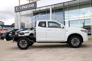 2020 Mazda BT-50 B30B XT (4x4) Ice White 6 Speed Automatic Freestyle Cab Chassis.