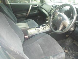 2009 Toyota Kluger GSU45R Altitude AWD White 5 Speed Sports Automatic Wagon.