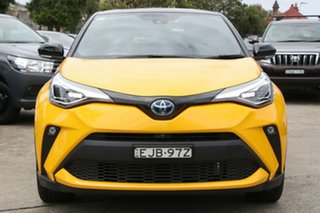 2020 Toyota C-HR Hybrid ZYX10R Koba E-CVT 2WD Hornet Yellow & Black 7 Speed Constant Variable Wagon