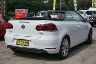 2011 Volkswagen Golf VI MY12 118TSI DSG White 7 Speed Sports Automatic Dual Clutch Cabriolet